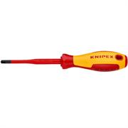 KNIPEX PZ2х212 мм, отвертка диэлектрическая PlusMinus Pozidriv® KN-982502SLS