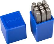 ЗУБР высота буквы 5 мм, Cr-V сталь, клейма штамповочные 21501-05_z01 Профессионал