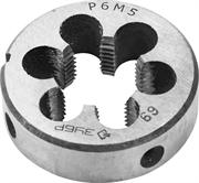 ЗУБР М18 x 2,5 мм, плашка круглая машинно-ручная 4-28023-18-2.5