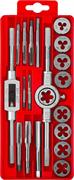 ЗУБР 20 предметов, 9ХС, набор метчиков и плашек 2810-H20_z01