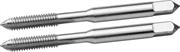 ЗУБР М5 х 0.8 мм, 2 шт., машинно-ручные, для нарезания метрической резьбы в сквозных отверстиях, комплект метчиков 4-28007-05-0.8-H2_z01