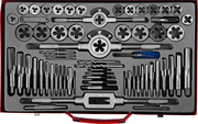 ЗУБР 65 предметов, 9ХС, набор метчиков и плашек 28118-H65_z01