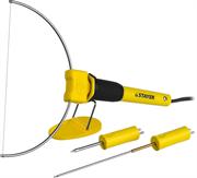 STAYER 3 насадки, 7Вт, 220 В, прибор для художественной резки пенопласта, пластика 45257-H3