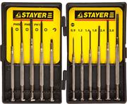 STAYER 11 предметов, отвертки часовые для особоточных работ 2560-H11_z01