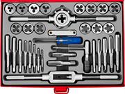 ЗУБР 35 предметов, 9ХС, набор метчиков и плашек 28117-H35_z01