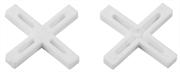 ЗУБР 2.5 мм, Х-образные, 150 шт., крестики для кафельной плитки 33811-2.5