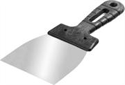 СИБИН 80 мм, нержавеющая полотно, пластмассовая рукоятка, шпатель 10079-080_z01