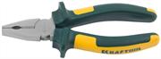 KRAFTOOL 160 мм, Cr-Mo, плоскогубцы комбинированные KRAFT-MAX 22011-1-16