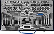 ЗУБР 35 предметов, Р6М5, набор метчиков и плашек 28110-H65 Профессионал