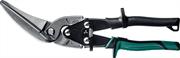 KRAFTOOL 280 мм, Cr-Mo, ножницы по металлу левые удлинённые Alligator 2328-LL
