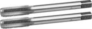 ЗУБР М8 x 1.25 мм, 9ХС, ручные, комплект метчиков 4-28006-08-1.25-H2