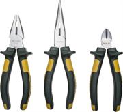 KRAFTOOL 3 шт, набор губцевых инструментов KRAFT-MAX 22011-H3