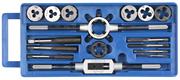 ЗУБР 16 предметов,9ХС, набор метчиков и плашек в пластик. боксе 28122-H16