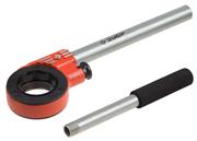 """ЗУБР 1/4""""-1 1/4"""", ручка 620 мм, двухкомпонентная ручка, трещотка для клуппов 28275-1/4-5/4"""