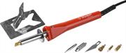 ЗУБР 5 насадок, нож, 30 Вт, прибор для выжигания с набором насадок 55426