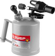 ЗУБР 2 л, стальной эжектор, лампа паяльная ВУЛКАН ВК-20 40652-2.0 Профессионал