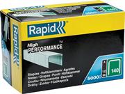 RAPID тип 140 (G / 11 / 57), 10 мм, 5000 шт., супертвердые, профессиональные, плоские скобы 11910711