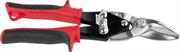 JCB 250 мм, левые, двухкомпонентная ручка, хромованадиевая сталь, ножницы по металлу рычажные JAS002