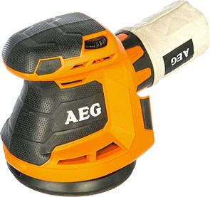 AEG BEX 18-125-0,  451086 эксцентриковая шлифовальная машина