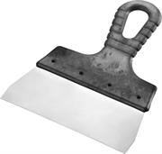 СИБИН 150 мм, нержавеющая полотно, пластмассовая рукоятка, шпатель фасадный 10079-150_z01