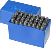 ЗУБР высота буквы 8 мм, Cr-V сталь, клейма штамповочные 21503-08_z01 Профессионал