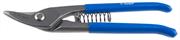 ЗУБР 220 мм, изогнутые левые, Cr-V, ножницы по металлу цельнокованые 23011-25_z01