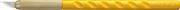 OLFA 6 мм, нож с перовым лезвием OL-AK-1/5B