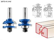 ЗУБР рабочая длина-25,4 мм, хв.-12 мм, d-22 мм, D= 41 мм, набор фрез рамочных №2, 28772-41.3-H2