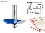ЗУБР D=63,5 мм, рабочая длина-13 мм, радиус-25,4 мм, хв.-12 мм, d-12,7 мм, фреза фигирейная №2, 28761-63.5