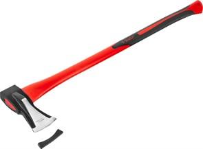 """Топор-колун кованый, ЗУБР Мастер 20616-20, с двухкомпонентной фиберглассовой рукояткой, """"ушастый"""", 2кг/880мм"""