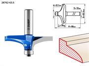 ЗУБР D=63,5 мм, рабочая длина-19 мм, радиус - мм, хв.-12 мм, d-12,7 мм, фреза фигирейная №3, 28762-63.5