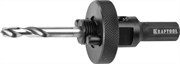 KRAFTOOL d 32-152 мм, державка для биметаллических коронок с центрирующим сверлом EXPERT 29524_z01