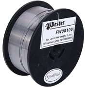 WESTER d 0,8 мм, 1 кг, флюсовая, проволока сварочная FW 08100