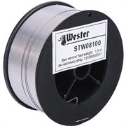 WESTER d 0,8 мм, 1 кг, нерж. сталь, проволока сварочная STW 08100