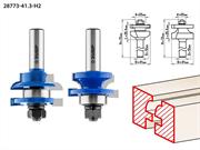 ЗУБР рабочая длина-25,4 мм, хв.-12 мм, d-22 мм, D= 41 мм, набор фрез рамочных №3, 28773-41.3-H2
