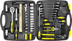 """Набор слесарно-монтажного инструмента STAYER """"MASTER"""", 58 предметов"""
