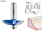 ЗУБР D=51 мм, рабочая длина-13 мм, радиус-19 мм, хв.-12 мм, d-12,7 мм, фреза фигирейная №2, 28761-51