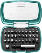 KRAFTOOL 32 шт., CrMo, набор бит с магнитным адаптером 26083-H32