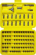 STAYER 100 шт., Cr-V, набор бит 2604-H100