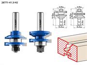 ЗУБР рабочая длина-25,4 мм, хв.-12 мм, d-22 мм, D= 41 мм, набор фрез рамочных №1, 28771-41.3-H2