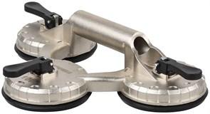 ЗУБР 140 кг, алюминиевый, профессиональный, тройной, стеклодомкрат 33723-3
