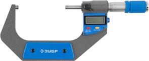 ЗУБР 75-100 мм, микрометр цифровой 34482-100