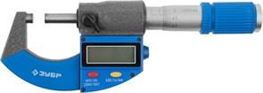 ЗУБР 0-25 мм, микрометр цифровой 34482-25_z01
