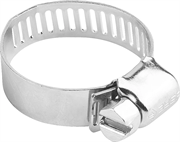 ЗУБР 40-64 мм, 4 шт., оцинкованные, просечная лента 12,7 мм, хомуты 37805-040-64-4