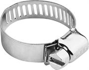 ЗУБР 8-13 мм, 10 шт., оцинкованные, просечная лента 8 мм, хомуты 37803-08-13-10