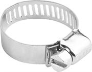 ЗУБР 16-32 мм, 100 шт., оцинкованные, просечная лента 12,7 мм, хомуты 37805-016-32-100