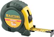 KRAFTOOL 5 м х 19 мм, рулетка с нейлоновым покрытием 34122-05-19_z01
