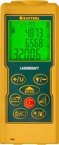 Дальномер лазерный LASER-KRAFT, дальность 5см - 70м, точность 1,5мм, KRAFTOOL 34760