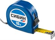 СИБИН 10 м х 25 мм, пластиковый корпус, рулетка 34020-10-25