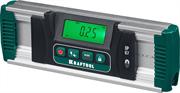 KRAFTOOL диапазон 0-360°, HOLD, подсветка экрана, IP67, точность 0.05°, уровень-уклономер электронный EXTREM 34686